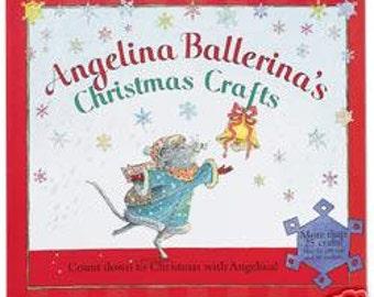 ANGELINA BALLERINA Christmas Craft Book - Holidays Crafts - Retired HTF Crafts Book