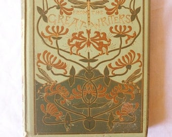 Antique Golden Thoughts From The Great Writers, Ernest Nister, Alfred J Fuller, Poetry Quotes