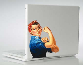 Rosie the Riveter Vinyl Decal Sticker iphone cell phone tablet