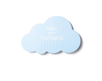 Portland Cloud Postcard