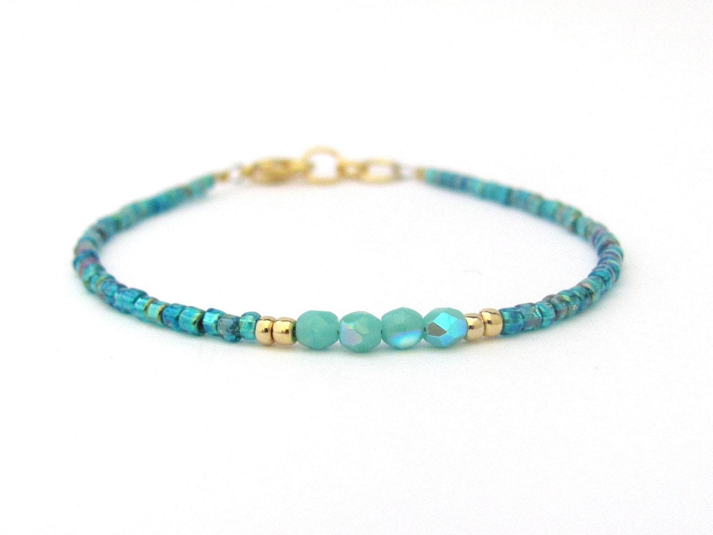 turquoise bracelet seed bead bracelet friendship bracelet. Black Bedroom Furniture Sets. Home Design Ideas