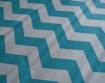 Baby Blue & White Chevron Pattern Contact Paper