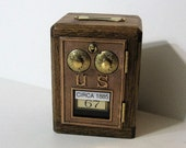 Post Office Box 1885 Door Bank combination lock