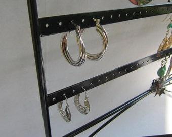 925 Sterling Silver - Italy - Triple Hoop Earrings