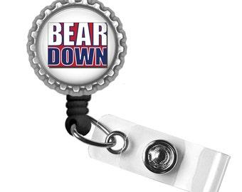 Bear Down - University of Arizona - Retractable Badge Reel ID Holder