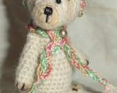 RESERVED for susanne do not buy if you are not susanne thread crocheted collectible miniature bear thread by bonbears