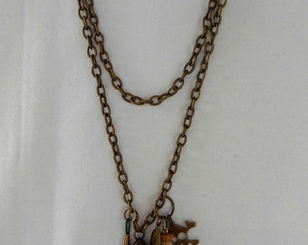 Treasure Chest Statement Necklace