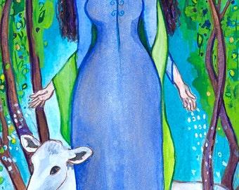 Boann, Celtic Goddess of Creativity and Inspiration