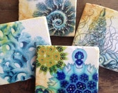 From The Sea - coasters (set of 4)