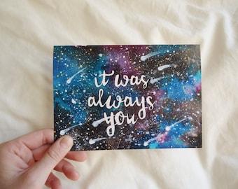 Love Like Shooting Stars Card