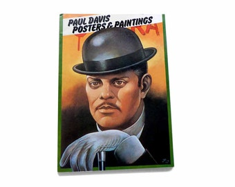 1977 Paul Davis Posters & Paintings Book First Edition Che Guevara For Colored Girls 29 Poster Prints Uncommon