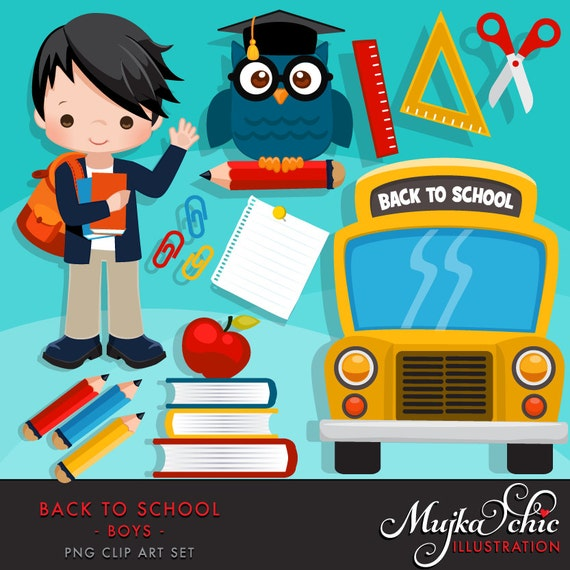 back to school bus clipart - photo #50