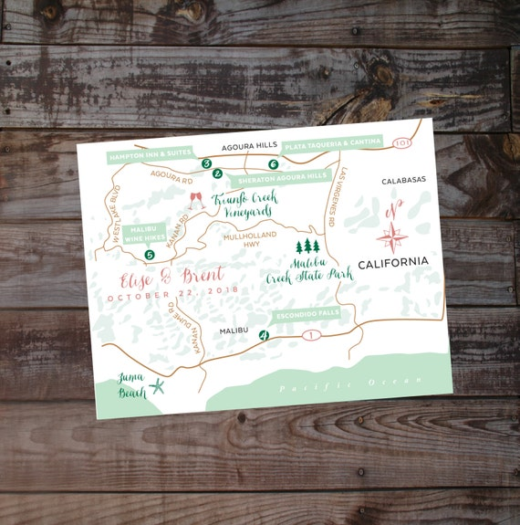 Map, hand drawn map, wedding map, event map, printed maps, diy map, location map, illustrated map, wedding invitation map, handdrawn map,