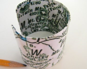 """White Mtns  cuff bracelet -2"""" - gift-boxed"""