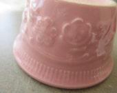 Vintage Bowl, Taylor Smith Taylor Bowl, Small Bowl, Pink Ceramic, Condiment Dish, TST Bowl, Pink Bowl, Retro Kitchen, Oven Serve Ware