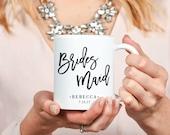 Bridesmaid Mug - Inspirational - Custom Coffee Mug - Tea - Wedding - Bridesmaid - Bridesmaids Gifts - Bachelorette - Hens Party