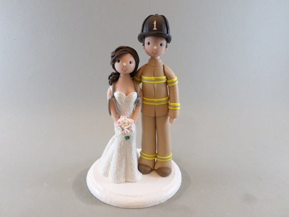 nurse wedding cake toppers personalized wedding cake topper firefighter amp 17951