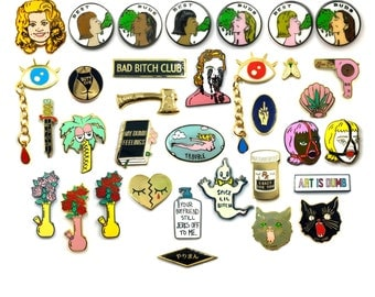 Pick 3, 5, or 7 Lapel pins and SAVE