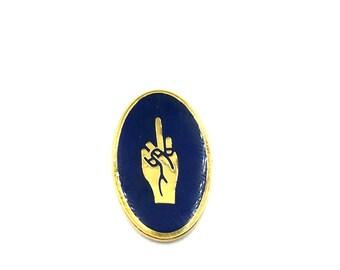 Boy Scout F*ck You Enamel Lapel Pin