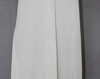 Vintage Women's Full Slip by Vanity Fair, Cream or Beige, Size 38