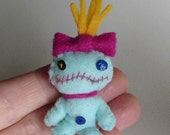 RESERVED ITEM     Miniature felt scrump stuffed toy