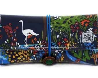 Button Clutch - A landscape of Renoir-esque beauty