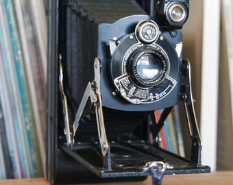 1920's No. 1A Pocket Kodak Series II Camera with Original Box & Instructions