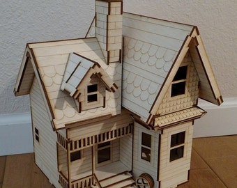 Victorian style house for Model house movie