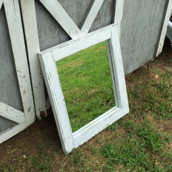 white distressed mirror distressed white wash mirror rustic mirror primitive 1024