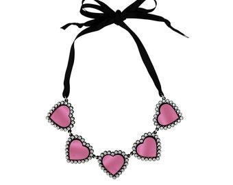 Baby Be Mine Necklace Pink