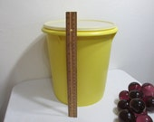 """Tupperware Giant Canister 9 inch diameter 10 1/2"""" Tall"""