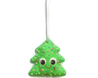 Cute Hanging Ornament - Christmas Tree Ornament - Christmas Decoration - Cute Christmas Decor - Cute Christmas Bauble