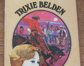 TRIXIE BELDEN 6 - The Mystery In Arizona vintage 1958/77