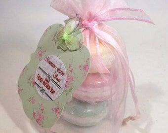 French Macaron Soap Set-Handmade-Natural-Glycerin-Soap-Fun-Gift-Abbotsford-BC-Canada