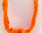 Sensory Jewelry size Small Chunky Orange