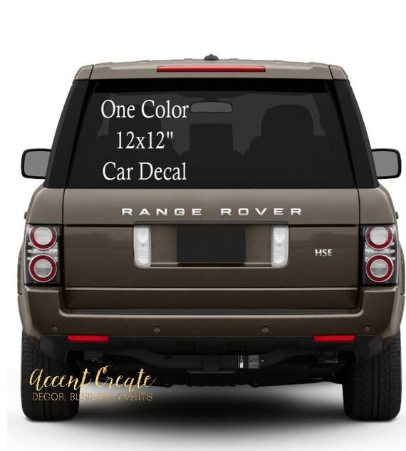 X Custom Car Decal Vinyl Decal Business Decals - Promotional car custom vinyl stickers
