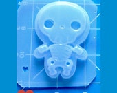 SALE MFL Kawaii Layered Skeleton Boy Handmade Plastic Resin Mold