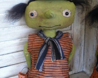 Little primitive Witch doll
