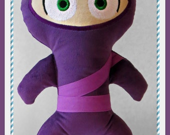Clumsy Ninja doll custom made