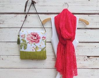 Lace Scarf, Fuchsia Pink Scarf, Long Scarf, Pink Scarf, Soft Lace Scarf, Wrap, Shawl, Bridesmaid Gift Idea, Birthday Gift, Jannysgirl
