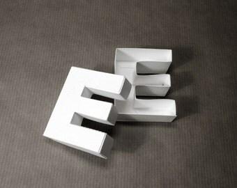 Gift idea: Letter E box
