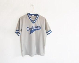 Seahawks number 15 football jersey . athletic sports team uniform shirt .mens small.medium .sale s a l e