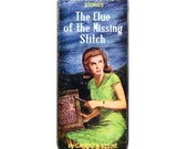 Magnetic Needle Case Needle Slider Case Nancy Mystery Book Clue of the Missing Stitch