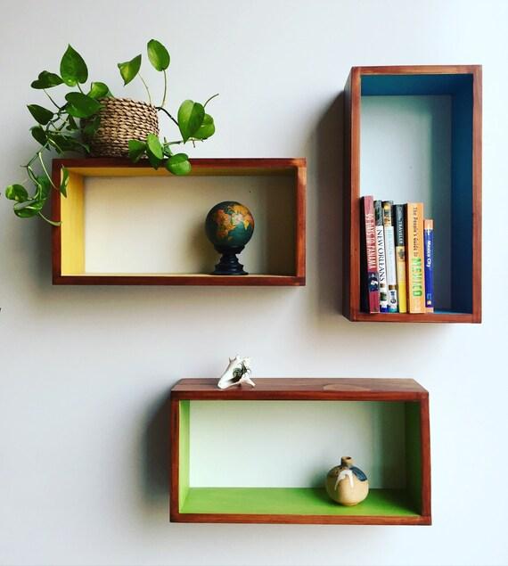 floating shelves wall shelves shelf mid by tinylionsdesigns. Black Bedroom Furniture Sets. Home Design Ideas