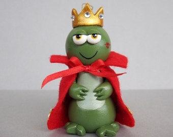 Frog Prince Ornament