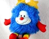 Vintage 80s Rainbow Brite Blue Sprite