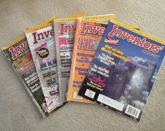 Inventors digest magazines  5 ea. Great ideas for the inventor.