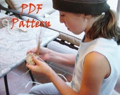 PDF How-To Pattern Instruction,  Pine Needle Basket Pattern , Instant Download, Wide Raffia Style, DIY, Make a Basket, Learn to Coil
