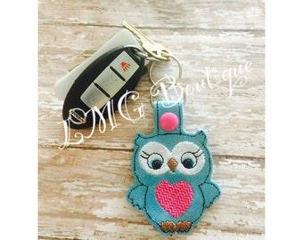 Owl Key Chain. Owl key fob, Owl, Birds,  key chain, Owl party, Party favor