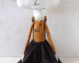 Handmade Art Doll - Lilah